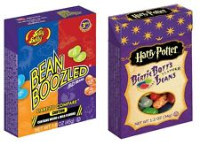 2 Pack BEAN BOOZLED & Harry Potter BERTIE BOTTS Jelly Belly Beans Box Candy
