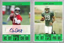 TONY HUNT 2007 TOPPS TX ROOKIE CARD #162 #158/599