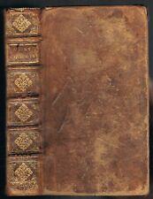 RECUEIL de VERS CHOISIS Ex-Libris Caroli CHABROUD Avocat Édit. Louis JOSSE 1701