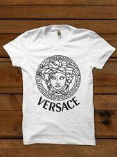 Versace Medusa Logo T-Shirt Weiß 100% Baumwolle