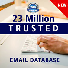 24 Million Consumer USA & UK Targeted Business Email address List for Marketing