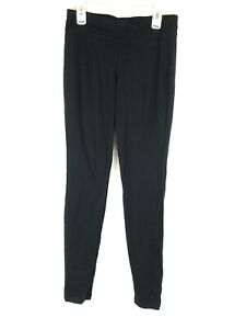 Hue, Women's Wide Waistband Cotton Leggings, Black, Size Small