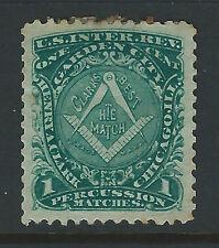 Bigjake: RO61b, 1 cent Henry A. Clark. - Match & Medicine