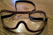 Secretariat signed Goggles Ron Turcotte autograph triple crown 1973 goggles