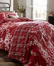 Édredons et couvre-lits rouge en 100% coton