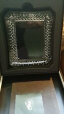 WATERFORD Crystal LISMORE 5 x 7 PICTURE FRAME #128019 WITH Waterford Box