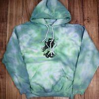 Vintage Tie Dye Hoodie Art Club Music Festival Hipster Hoodie