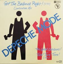 "Depeche Mode 12"" Get The Balance Right! (Combination Mix) - Limited Edition - Fr"