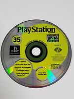 PS1 PlayStation 1 Official U.S. Magazine Issue 35 Demo Disc - Tested