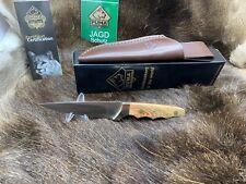 """2019 Puma 12 7079  """"Diana"""" Knife With Olive Handles & Leather Sheath Mint Box"""