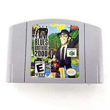 Blues Brothers 2000 (Nintendo 64, 2000) N64 Authentic Game-Tested