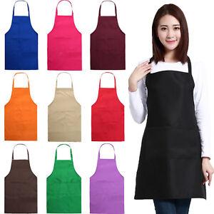 Damen Kochschürze Schürze Hause Latzschürze Grillschürze Küche Arbeitskleidung I