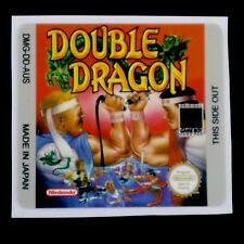Set Of (1) Gameboy Double Dragon AUS Replacement Label Sticker