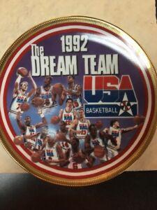 Sports Impressions 1992 Dream Team Gold Signature Plate 7500 Made C62