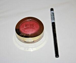 Milani Baked Powder Blush # 01 + Retractable Eye Liner #06 Lot Of 2 Sealed