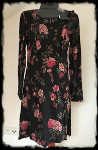 Vive Maria*Victorian Rose Dress*Kleid*schwarz*L*neu