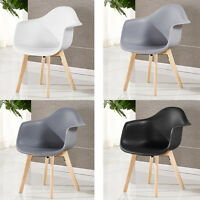 Scandinavian Rico Tube Chaise salle à manger plastique blanc noir gris