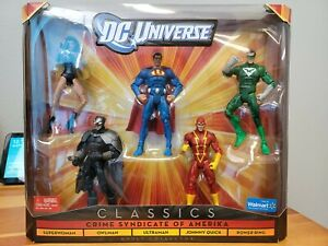 DC Universe Classics Crime Syndicate of Amerika Walmart Exclusive 5-Pack NIB