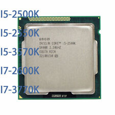 INTEL Core I5-2500K I5-2550K I5-3570K I7-2600K I7-3770K LGA 1155 CPU Processor