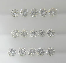 2.2-2.3mm 15pc 0.67cts VS-SI Clarity Natural Loose Round Diamond Lot G-H Color