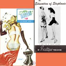 Exotique Masque Selbee 1960 Eric Stanton Bilbrew High Heels Corsets ebooks on CD