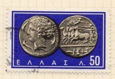 Grecia 1963 PRIMA EMISSIONE USATO FINE 50l. 104460