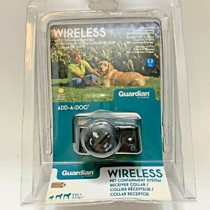 Guardian Wireless Pet Containment System Receiver Collar Add-A-Dog GIF-275-11