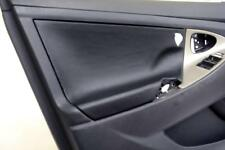 Door Panel Insert Cards Leather Synthetic For Toyota Camry 07-11 Black