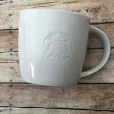 Starbucks® Classic Ceramic White Mug Logo for Collectors Limited Edition