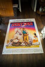 LUCKY LUKE Terrence Hill 4x6 ft French Grande Movie Poster Original 1991