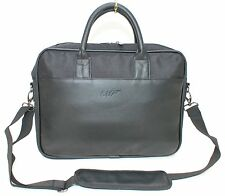 JAMES BOND 007 SMALL BLACK FAUX LEATHER MENS LAPTOP / WORK BAG.