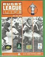 #T103.   RUGBY LEAGUE LIFE MAGAZINE, JUNE 1968, WORLD CUP COVER