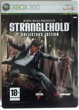 Stranglehold. Collector's Edition. Caja Matalica. Steelbook. XBox 360. Fisico.