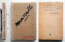Giuseppe Mazzullo Autoritratto/8 1970 Autografato Carte segrete