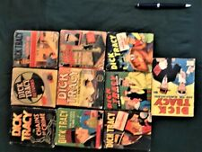 Dick Tracy 9 Blbs, 1 Fast Action Vg- to Fn+ $400+ Value, Fast Action $80 itself