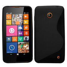 Fashion S-Line Rubber Soft TPU Case Gel Cover For Nokia Lumia 630 635 Salable
