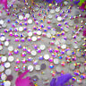 Lot Pcs Mixed Crystal Flat Back Rhinestones Gems Diamante Bead Nail Art Crafts
