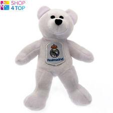 REAL MADRID SOFT PLUSH TEDDY BEAR WHITE MINI TOY OFFICIAL FOOTBALL SOCCER CLUB