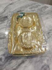 New listing Lego® Gold Metallic Brick Backpack New Sealed w/ Tag