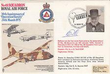 RAF32e 48 Sqn30th Anniv Operation Varsity.Reflown Hercules Signed Pilot Todd