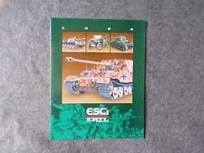 Esci Ertl 1996 Trade Catalogue - Toy Soldiers & Model Kits, Toy Memorabilia