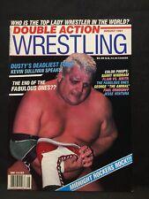 Double Action Wrestling Magazine August 1987 WWE WWF WCW NWA AWA Pro Illustrated