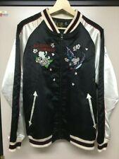 Gokuhonpo Sukajan Kabuki Embroidery Souvenir Jacket [Japanese L] Quilted Bomber