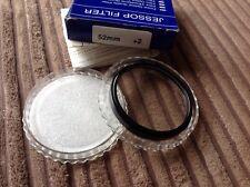 Jessop opitical filter. 52mm +2