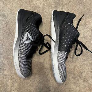 Women's REEBOK Crossfit Nano 7 White Black Sz 8.5 Cross Training Shoes Sneakers
