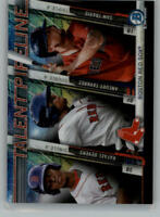 2017 Bowman Chrome Mega Box Talent Pipeline Baseball Cards Pick From List