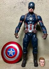 MARVEL LEGENDS THE FIRST TEN YEARS CAPTAIN AMERICA ACTION FIGURE CIVIL WAR