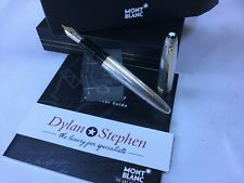 Montblanc meisterstuck 146 legrand solitaire sterling silver fountain pen