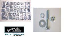 Fasteners Huge Grade 5 Bolt Nut, Flat & Lock Washer Assortment - Kit 5560 Pieces