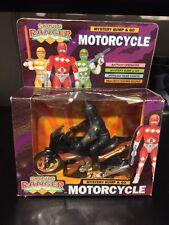 VTG 1990's Sonic Ranger POWER RANGER Bootleg  Motorcycle Mystery Bump & Go Rare